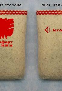 "Валенки корпоративные ""Белфорт камин - kratki.pi"""