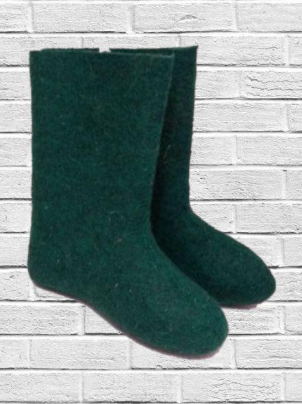 Валенки Самовалки Зеленые