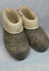 Тапочки-самовалки с подошвой