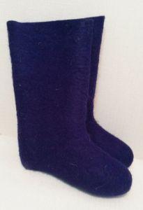 Валенки Самовалки Фиолетовые