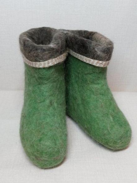 Чуни зеленые
