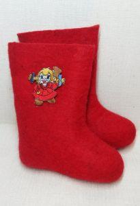 Валенки красные Кукла