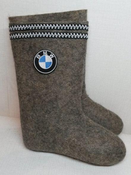 Валенки BMW серые