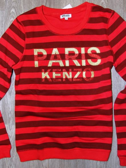 Толстовка KENZO PARIS красная